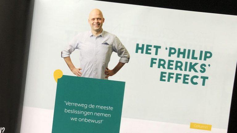 Het 'Philip Freriks' Effect